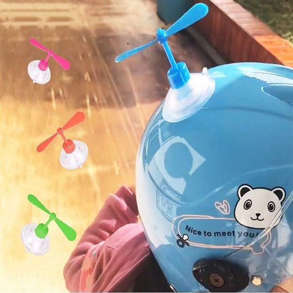 Bán buôn Chong chóng gắn nón bảo hiểm - Chong chóng Doremon