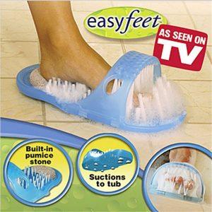 Dép bàn chải chà chân massage chân Easy Feet