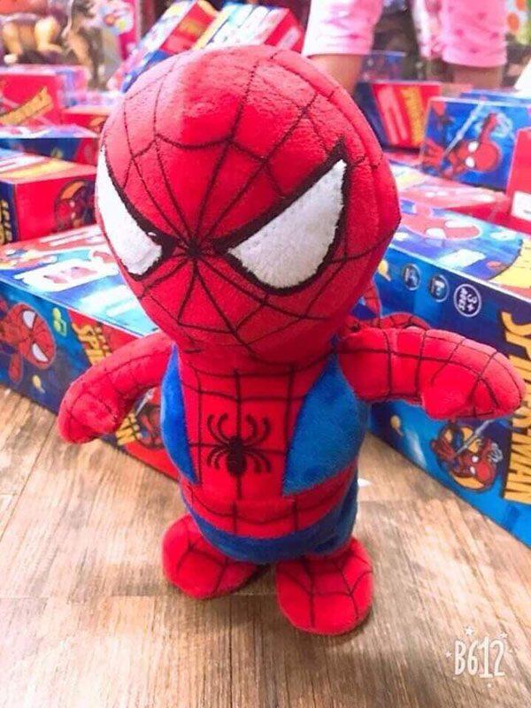 Đồ chơi người nhện nhại tiếng cho bé