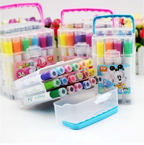 Bán buôn Hộp 18 bút màu nước cho bé