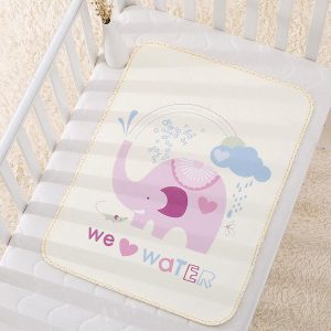 Lót chống thấm 4D trải giường cho bé