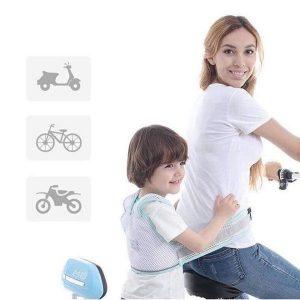 Đai đi xe máy thông hơi thoáng khí cho bé