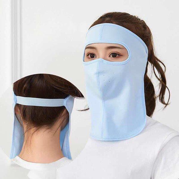 Khẩu trang Ninja che kín cổ ngăn tia uv